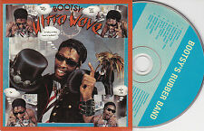 CD CARTONNE CARDSLEEVE 7T BOOTSY'S RUBBER BAND ULTRA WAVE 2010