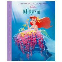 Kids Disney Princess The Little Mermaid Story Book Hard Back Cover Picture Book
