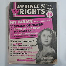 LAWRENCE WRIGHT`s 51st song & dance album , cover feat. maureen rose