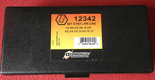 Bondhus 12342 Long Hex Key 13 Piece Imperal Allen Wrench Set In Box 1/16 to 1/2