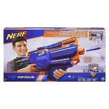 NERF Infinus N-Strike Elite Toy Motorized Blaster Toy with Speed-Load Technology