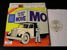 The Best Of The Move-ORIGINAL 1974 US Double PROMO Psych LP-CLEAN w/Sticker!