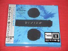 2017 ED SHEERAN Divide IN SPECIAL SLIP CASE  JAPAN 16 TRACKS CD