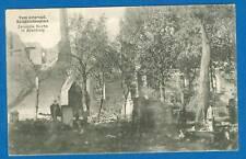 Allenburg, Zerstörte Kirche, Feldpost-AK, 1914