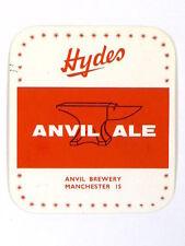 Unused 1950s-60s Hydes Anvil Ale Tavern Trove Manchester England