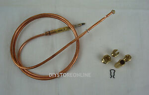 Super Universal Thermocouple For Gas Products & Domestic Gas Fire 900mm