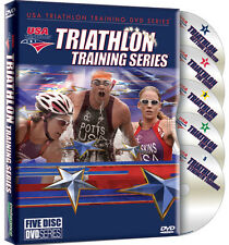*NEW* USA Triathlon Training Series 5 DVD Set - Olympic Team Training