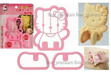 Japan Made Hello Kitty 3D Shape Cookie Sandwich Toast Cutter Mold Mould