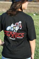 Motocross MX School T-Shirts by Gary Semics