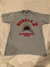 Vintage UNLV Runnin Rebels National Championship Sequel Gray Shirt Large