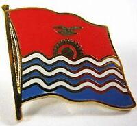 Kiribati Flaggen Pin Anstecker,1,5 cm,Neu mit Druckverschluss