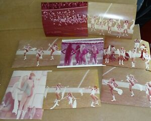 """Miami Dolphins Cheerleaders (one Dallas) 8x10"""" Photographs taken by a fan c.1979"""