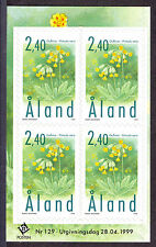 Mint Never Hinged/MNH Flowers Alandic Stamps