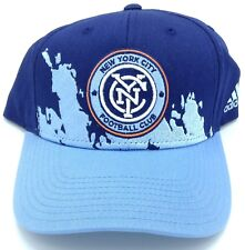 buy online ac3e3 54ece MLS New York City FC Adidas Adjustable Back Cap Hat Beanie Style   VM77Z NEW !