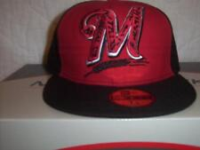 Milwaukee Brewers New Era 59Fifty Fitted Hat Size 7 1/4 NWT MLB Baseball Cap