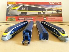 "RARE HORNBY R1176 ""EUROSTAR"" Electric Train Set DCC Fitted please see photos"