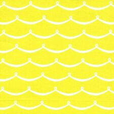 Michael Miller New Wave Yellow HIGH DENSITY COTTON FQ FAT QUARTER DC6623-CTRN