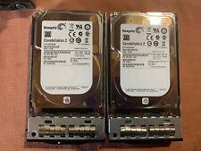 """LOT OF 2 Seagate ST91000640NS 1TB 7.2K 6Gb/s 64MB Cache SATA III 2.5"""" Hard Drive"""