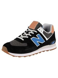 New Balance Men's ML574 Trainers, Black
