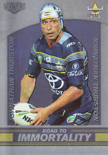 2016 ELITE ROAD TO IMMORTALITY CASE CARD - CC1 THURSTON NORTH QLD COWBOYS #028