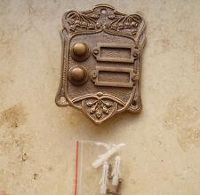 Messing Antik Antikladl Klingel 2 Jugendstil Door Bell Tür Türklingel K8A(K15A)