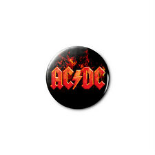 AC/DC (a) 1.25in Pins Buttons Badge *BUY 2, GET 1 FREE*