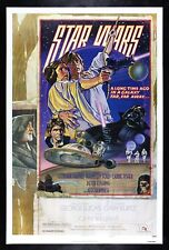 STAR WARS ✯ CineMasterpieces 1SH STYLE D ORIGINAL MOVIE POSTER 1977 UNUSED NM-M