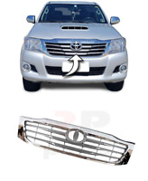 FOR TOYOTA HILUX 2012 - 2016 NEW FRONT BUMPER UPPER CENTER GRILLE CHROME