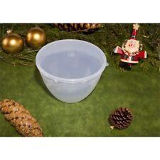 Just Pudding Basins Pudding Basin & Lid, 3 Pint /1.7ltr Clear