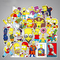 50 PCS Graffiti Sticker The Simpsons Family Funny Gift Stickers for Children DIY