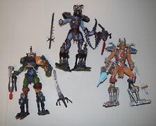 Masters of the Universe 200x Samurai He-Man, Skeletor & Man-At-Arms, Loose Lot