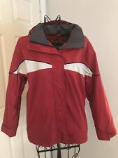 ROXY SNOW Womens Sz S/P Endurance Line RED SKI SNOWBOARD Jacket Winter Coat