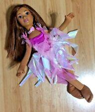 "2004 Mattel Barbie & Me Plush Cloth Doll 13 1/2"" Ballerina Brunette Pose-able"