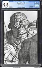 Fantastic Four #24 2020 CGC 9.8 - Alex Ross Timeless Virgin Thing sketch cover