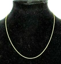 Womens Small Twist- Goldtone Necklace- Marked 'Korea'