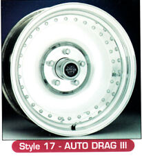 "15x10"" Centerline Forged Aluminum Wheels. Auto Drag 3 Style *1 Only*, 5-5.0 BC"