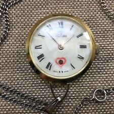 Estate Vintage Webster Mechanical Ladies Necklace Watches Pendant Running [ML07]