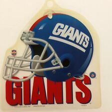 NFL New York Giants Suction Cup Window Sign, NEW