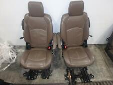 13-17 GMC ACADIA SECOND 2ND ROW REAR SEAT TAN BROWN CHOCOLATE BUCKET