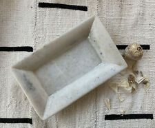 Rectangular Soapstone Tray Dish Catch All