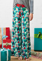 NEW Womens Moments with you Merry Trees PJ Pant size M Medium NWT
