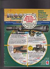 Shooters Catalog Spring 2003 Shooting Supplies Hunting Guns