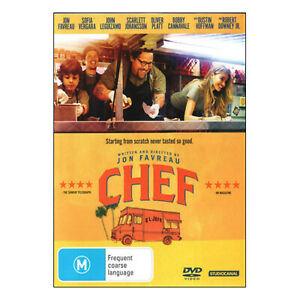 Chef DVD Brand New Sealed Region 4 Aust. - Jon Favreau - Free Post