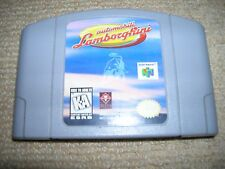 AUTOMOBILI LAMBORGHINI – NTSC Version  - Rare Nintendo 64 Game