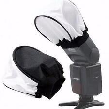 Photo Professional Universal White Soft Cloth Flash Flashgun Bounce Diffuser CB