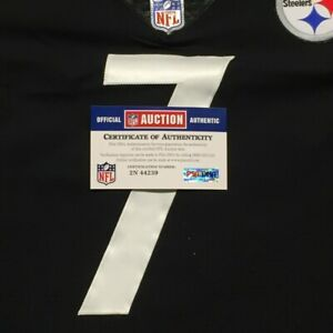 Steelers Ben Roethlisberger Game Issued Steelers Jersey from 2017 Size 58