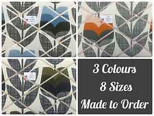 Custom Made Pin/Memo/Notice Cork Board Orla Kiely Rose Bud Fabrics Mid Century