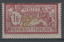 """FRANCE STAMP TIMBRE 121b """" MERSON 1F VARIETE CENTRE DEPLACE """" NEUF x TB  N666"""