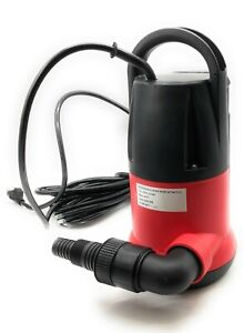 Portable All-in-One 3/4 HP, 2,450 GPH, Submersible Sump Pump-Helps Prevent Flood