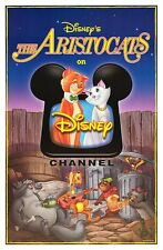 THE ARISTOCATS original ROLLED 27x41 DISNEY one sheet movie poster